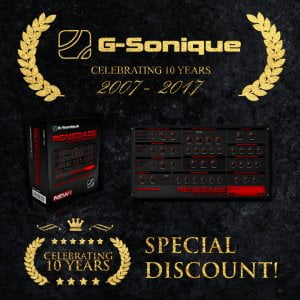 G Sonique Celebrating 10 years DISCOUNT
