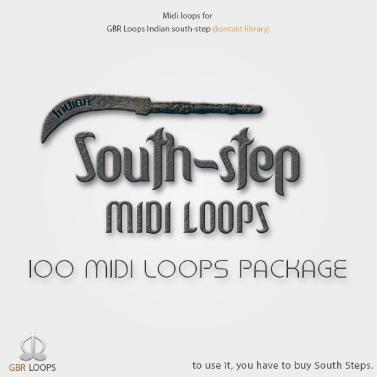 GBR Loops South Step MIDI Loops