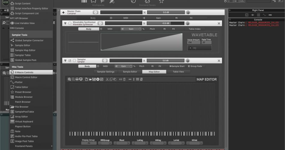HISE Sampler 1.5.0