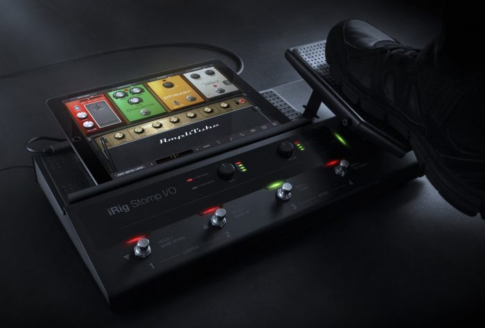 IK Multimedia iRig Stomp IO