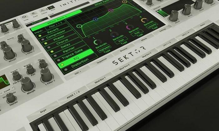 Initial Audio Sektor Synth