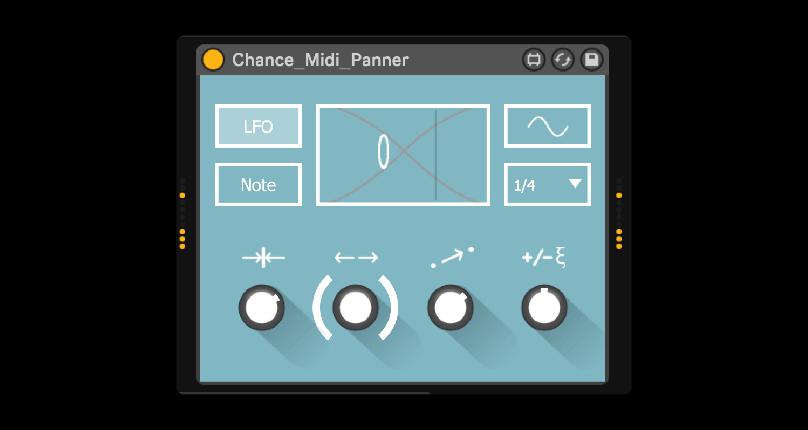 Isotonik Studios Chance TEN MIDI Panner