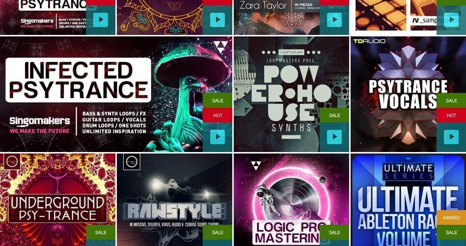 Loopmasters Trance & Psytrance sale