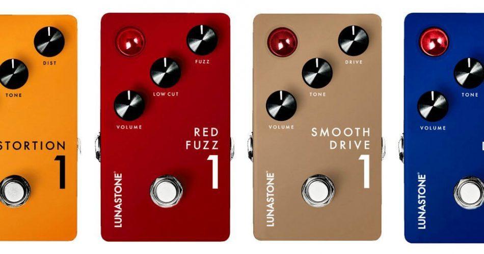 Lunastone pedals NAMM 2018
