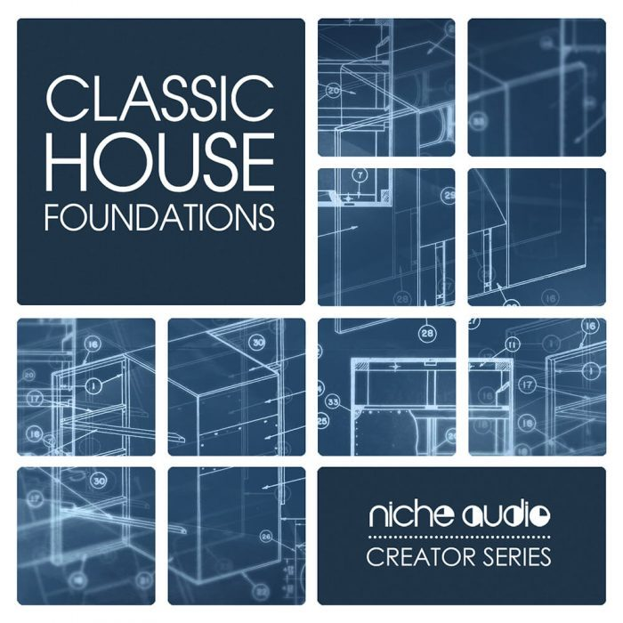 Niche audio releases classic house foundations for for Classic house sample pack