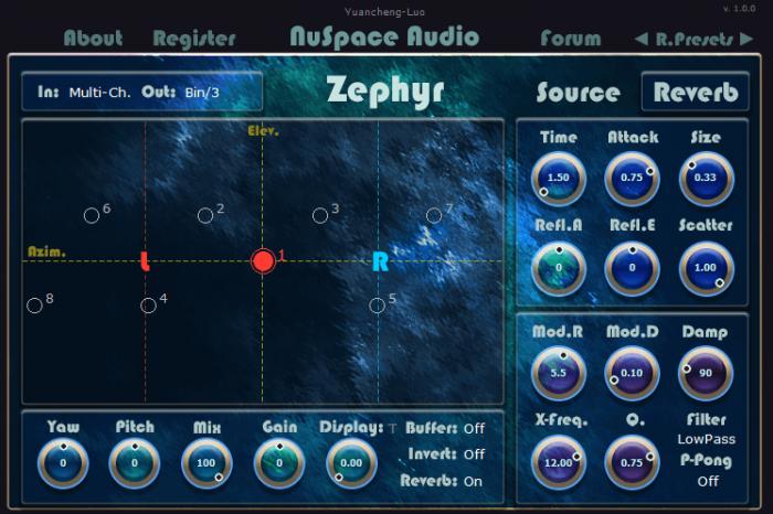 NuSpace Audio Zephyr