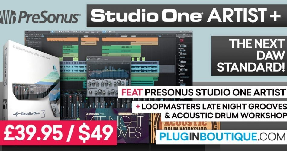 PIB PreSonus Studio One Artist Bundle