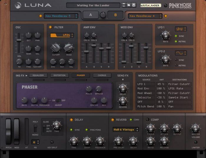 PinkNoise Studio Luna 2