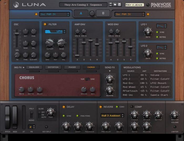 PinkNoise Studio Luna