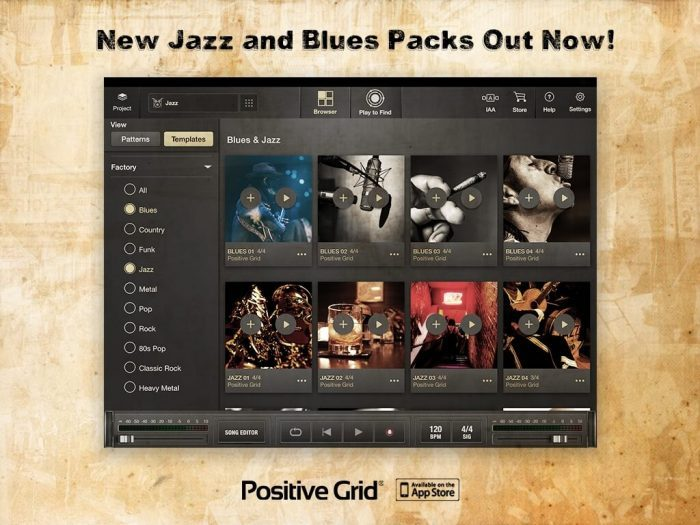 Positive Grid X Drummer Blues & Jazz