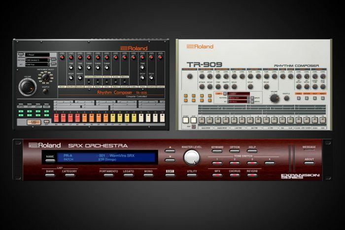 Roland Cloud TR-808, TR-909 & SRX