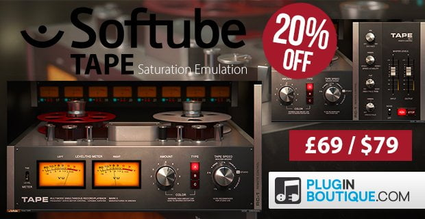Softube Tape Sale 20 OFF