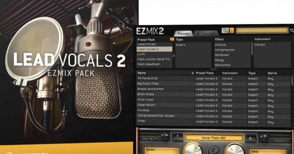 Toontack Lead Vocals 2 EZmix 2 Pack