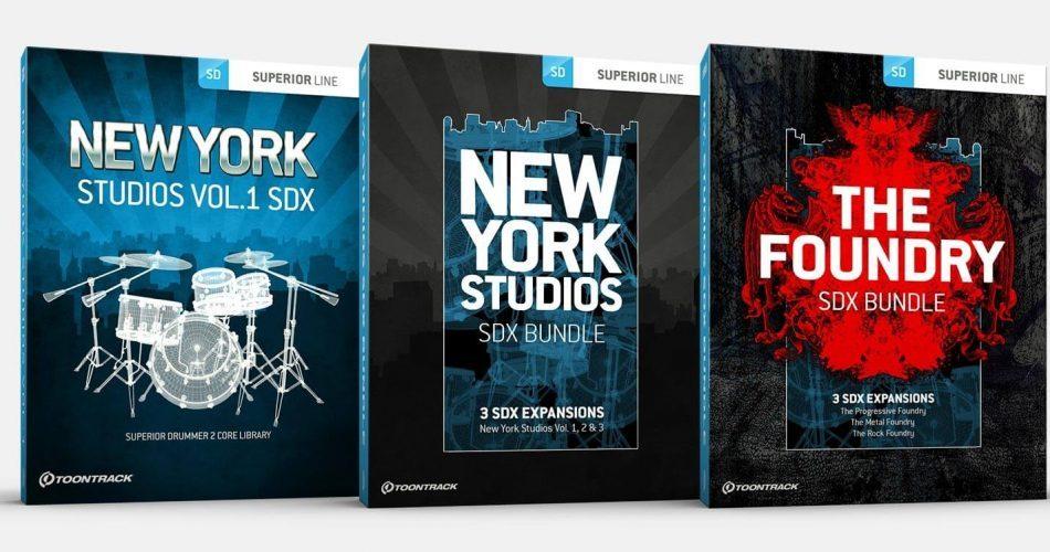 Toontrack Foundry & New York Studios SDX Bundles