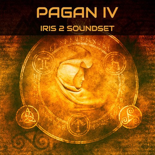 Triple Spiral Audio Pagan IV for Iris 2