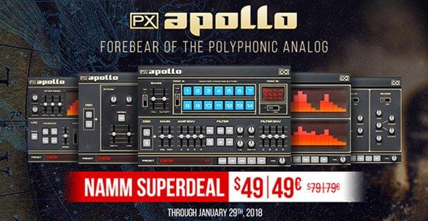 UVI PX Apollo NAMM Special