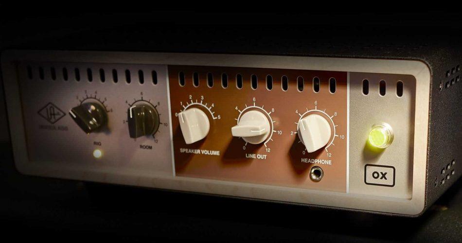 Universal Audio OX Amp Top Box feat
