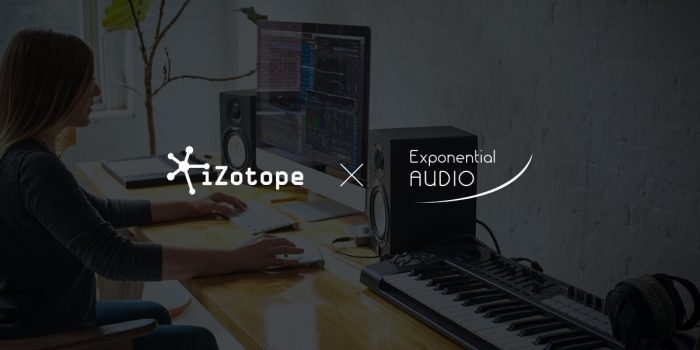 iZotope Exponential Audio sale