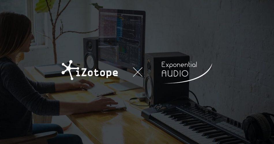 iZotope Exponential Audio sale