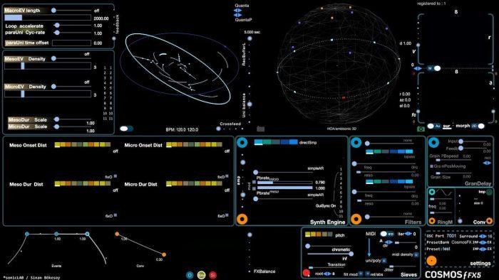 sonicLAB Cosmosƒ FX5