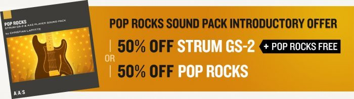 AAS Pop Rocks GS 2 Strum deal