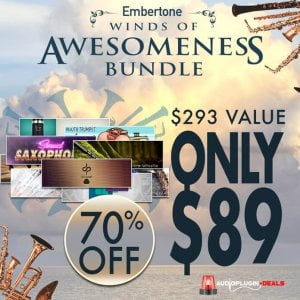 Audio Plugin Deals Embertone Winds of Awesomeness Bundle