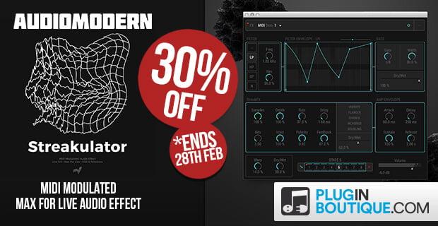 Audiomodern Streakulator V2 sale