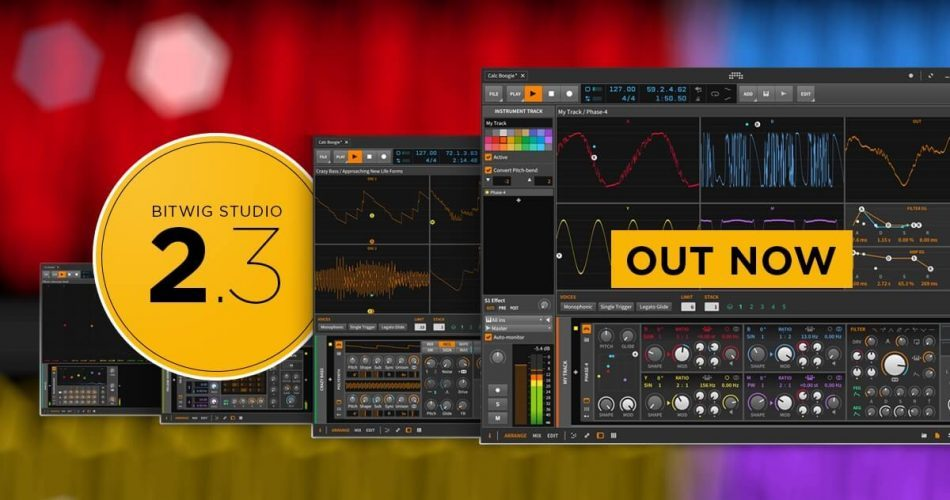 Bitwig Studio 2.3 out now