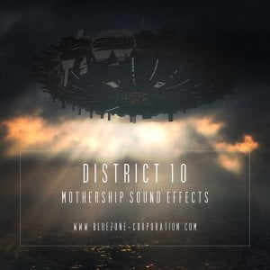 Bluezone BC0244 District 10 Mothership Sound Effects