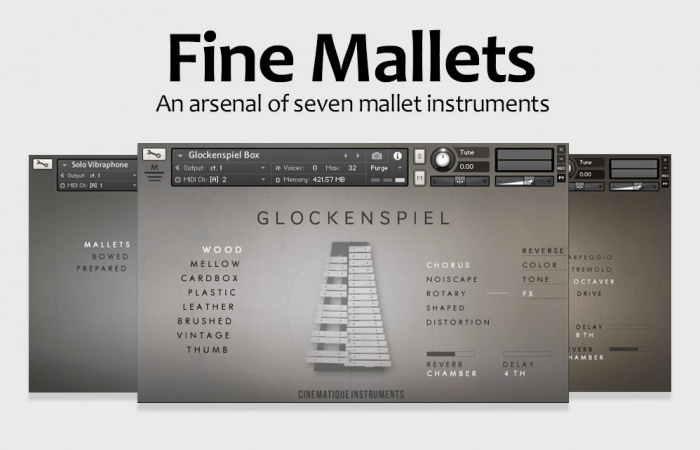 Cinematique Instruments Fine Mallets Bundle