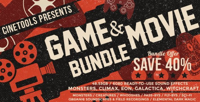 Cinetools Game & Movie Bundle