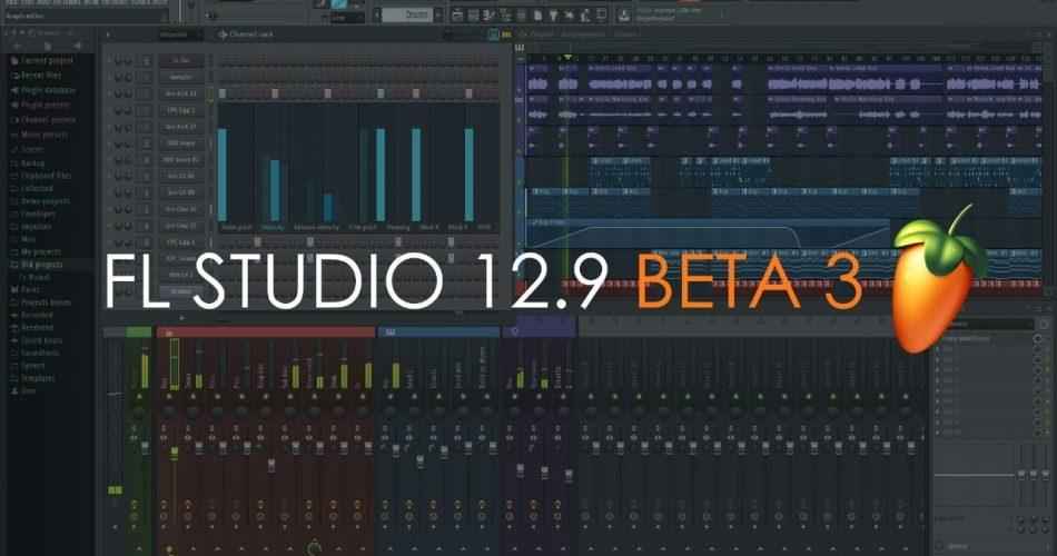 FL Studio 12.9.2 Beta 3