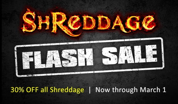 Impact Soundworks Shreddage Flash Sale