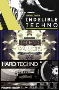 Loopmasters Techno Artisan Audio Delectable Records & Industrial Strength