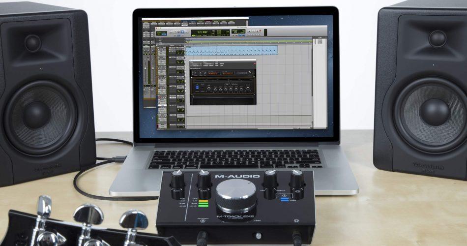 M Audio M Track2X2 Laptop