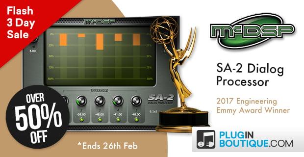 McDSP SA 2 Dialog Processor
