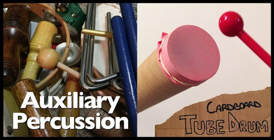 Michael Picher Auxiliary Percussion & Cardboard Tube Drum