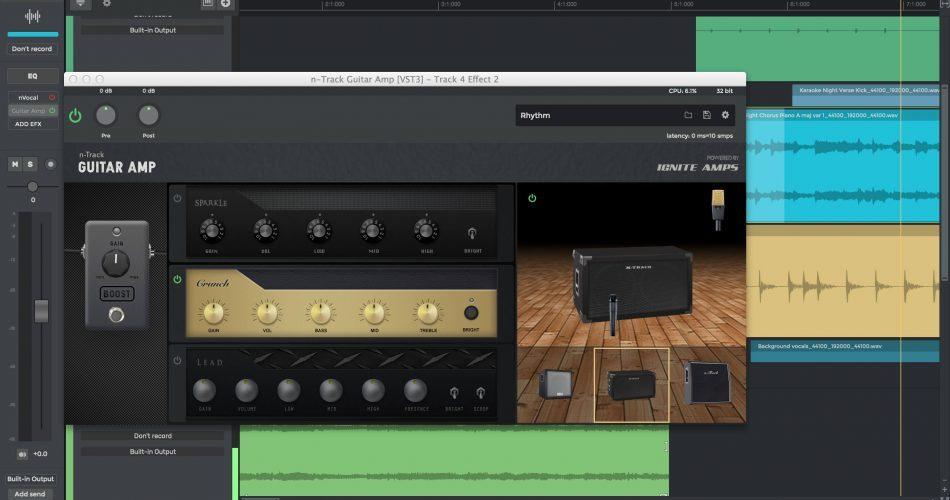 N Track Studio 9 Guitar Amp