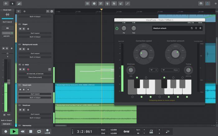N Track Studio 9 Vocaltune