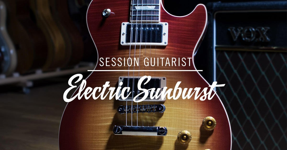 native instruments electric sunburst virtual guitar for kontakt. Black Bedroom Furniture Sets. Home Design Ideas