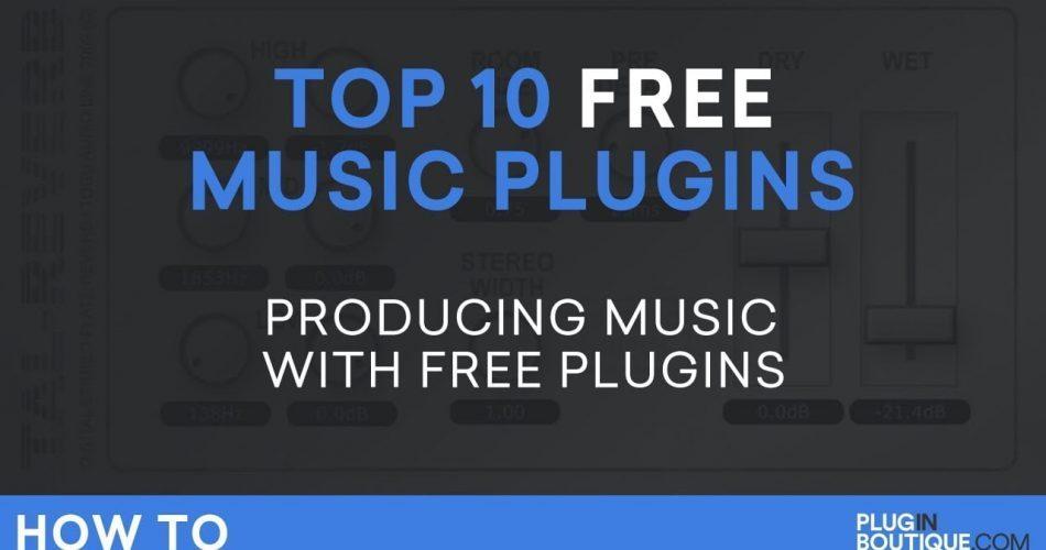 Plugin Boutique Top 10 Free Music Plugins