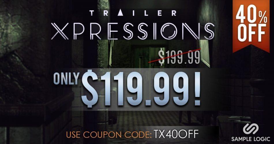 Sample Logic Trailer Xpressions 40 OFF week