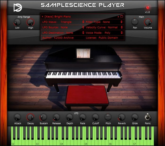 SampleScience Player v1 Bright Piano