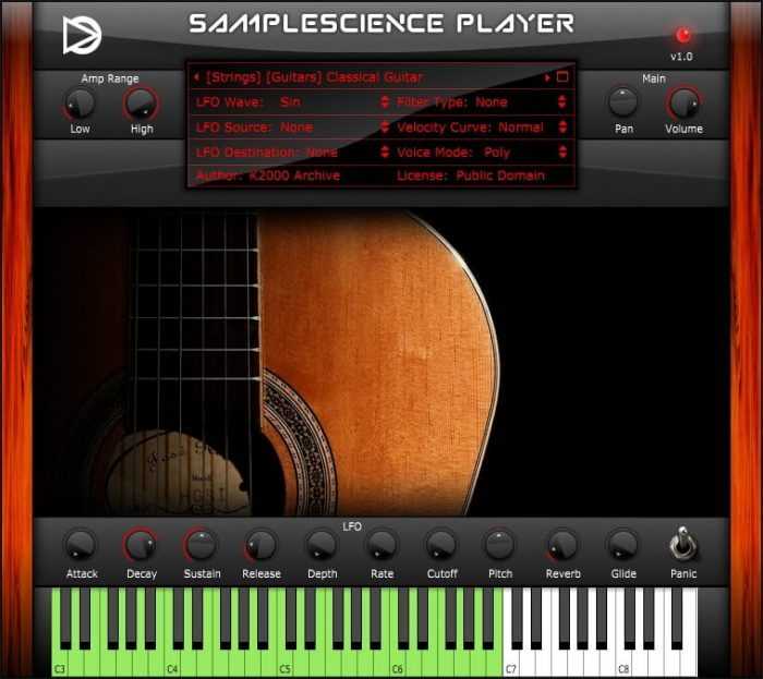 SampleScience Player v1 Classical Guitar