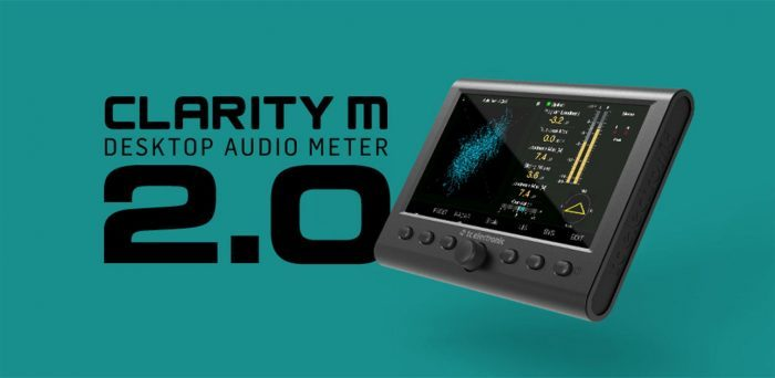 TC Electronic CLARITY M Audio Meter