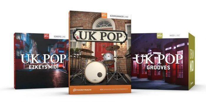 Toontrack UK Pop, Grooves & EZkeys MIDI