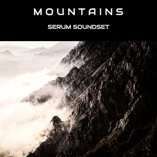 Triple Spiral Audio Mountains for Serum