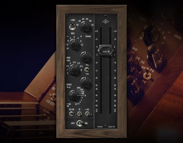 Universal Audio Helios Type 69 Preamp and EQ
