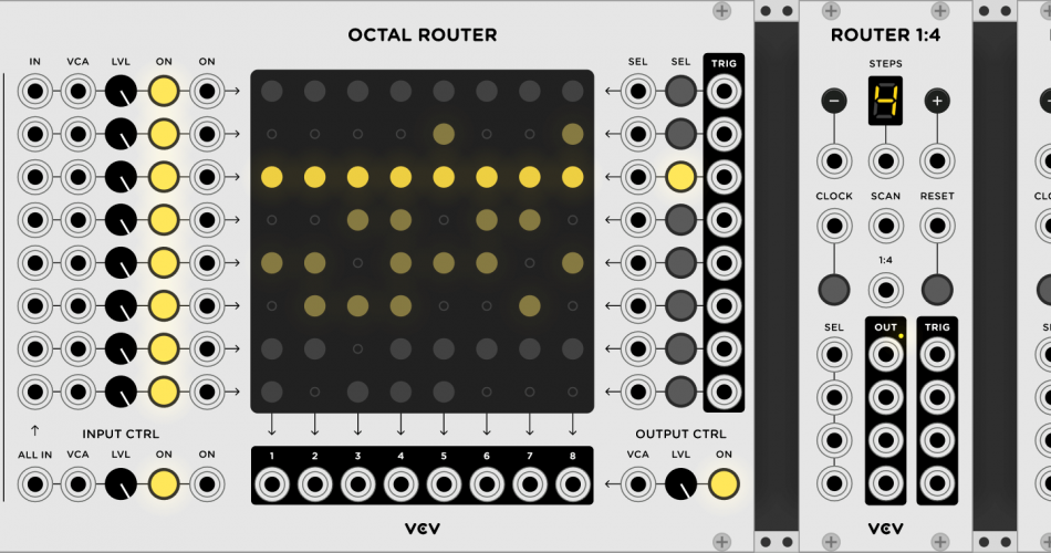 VCV Rack Router