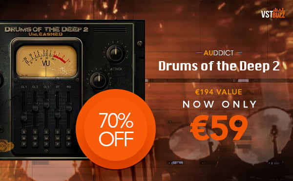 VST Buzz Auddict Drums of the Deep 2
